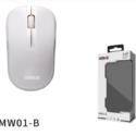 Ratón inalámbrico MW01-B Blanco