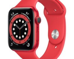 APPLE WATCH SERIES 6 GPS 44MM (PRODUCT) RED